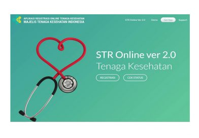Cara Perpanjang STR Terbaru via Online